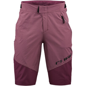 Cube Edge Baggy Shorts Heren, bordeaux